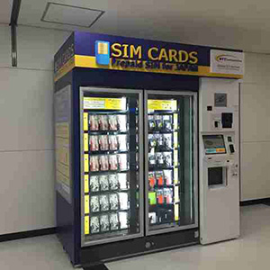 SIM Card Vending Machines