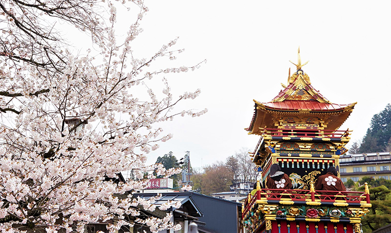 A RED JOURNEY ACROSS JAPAN