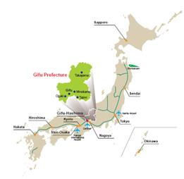 Archive Gifu Prefecture Event Newsletter Official Tourism - Japan map gifu