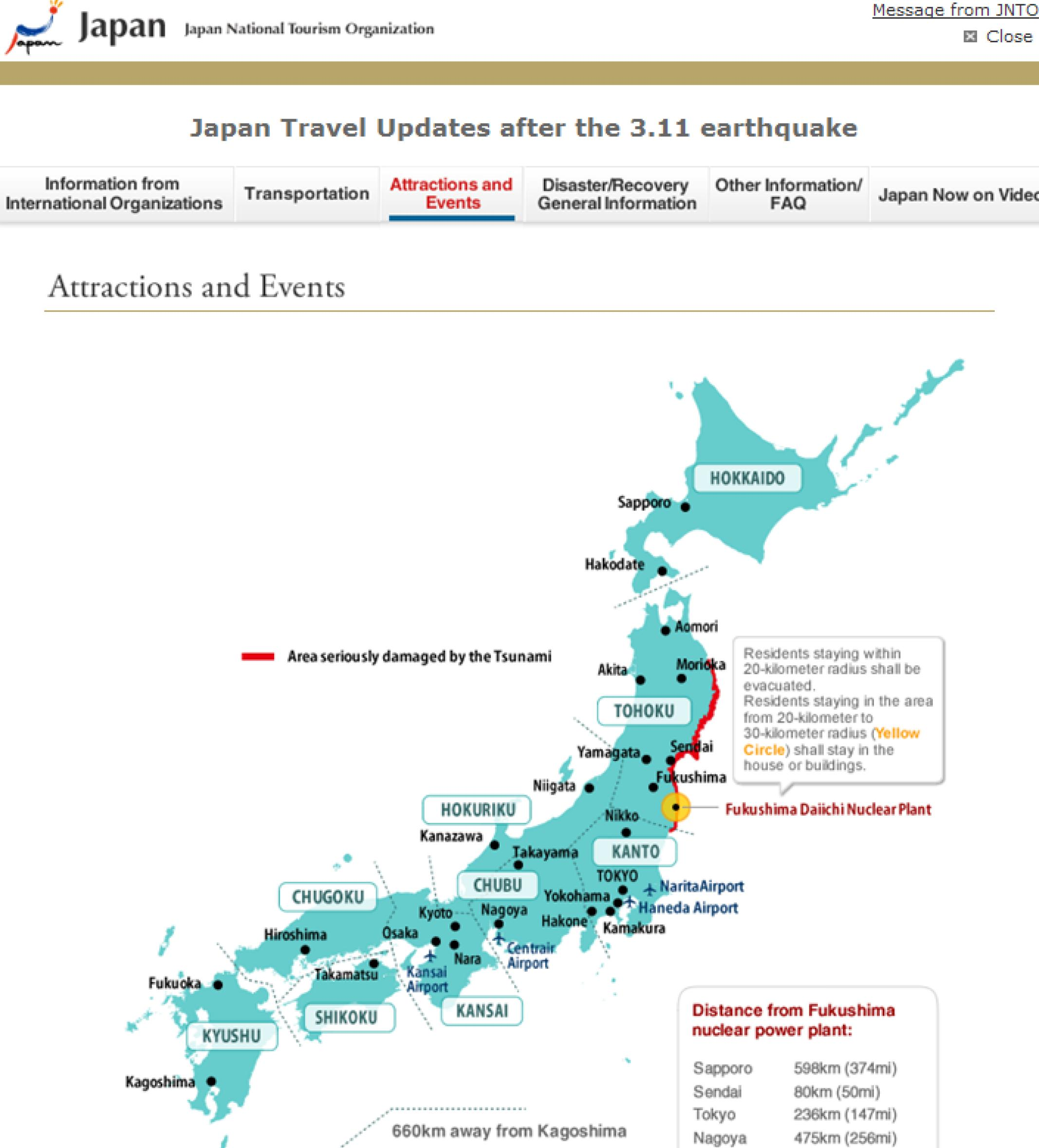 Japan Map Travel – Japan Map For Tourist
